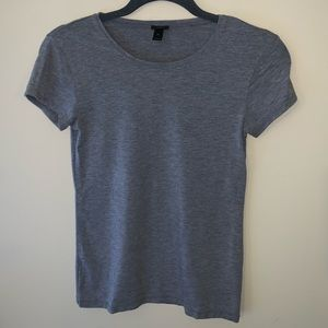 "J. Crew ""dressy"" stretchy t-shirt"